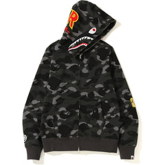 539e74552908 NEW COLOR CAMO 2ND SHARK FULL ZIP HOODIE MENS