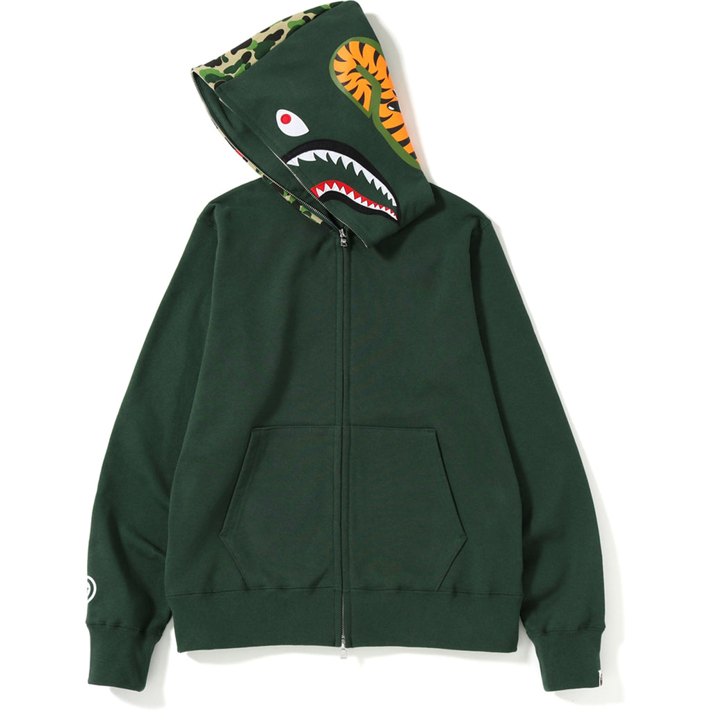 ABC SHARK FULL ZIP HOODIE MENS