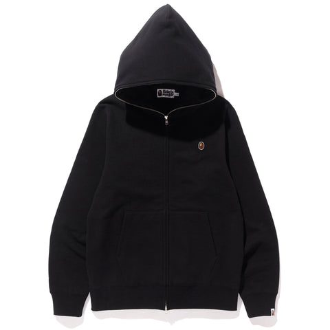 SILICON ONE POINT FULL ZIP HOODIE MENS
