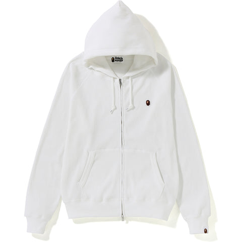 THERMAL WIDE ZIP HOODIE LADIES