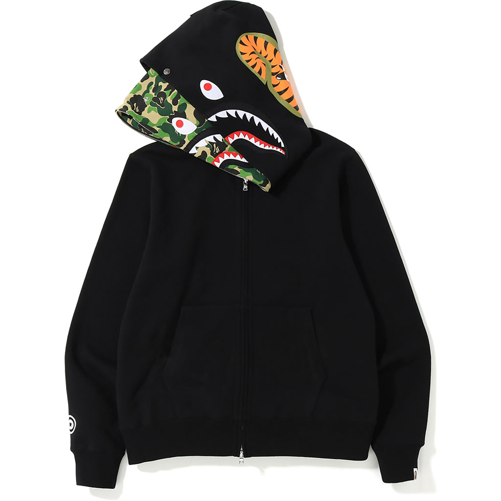 ABC SHARK FULL ZIP DOUBLE HOODIE MENS