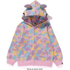BAPE X CARE BEARS FULL ZIP HOODIE KIDS