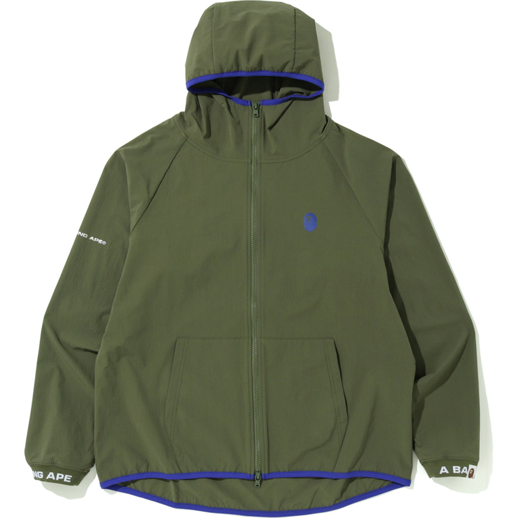 BAPE STRETCH FULL ZIP HOODIE MENS