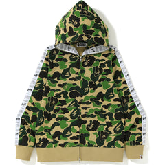 ABC BAPE STA TAPE FULL ZIP HOODIE MENS