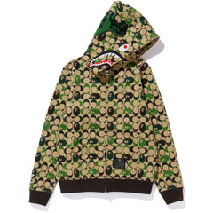 BAPE X COACH SHARK FULL ZIP HOODIE LADIES