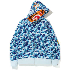 ABC CAMO TIGER FULL ZIP HOODIE MENS