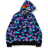 BAPE X KID CUDI SHARK FULL ZIP HOODIE MENS