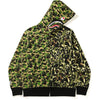 MO'WAX UNKLE X BAPE CAMO WIDE FULL ZIP HOODIE MENS