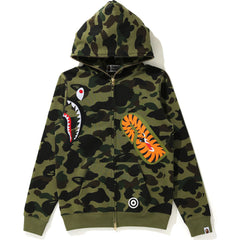 MULTI SHARK FULL ZIP HOODIE LADIES