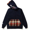 BAPE CHECK SHARK ZIP HOODIE JR KIDS