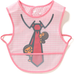 CHECK MILO FAKE TIE FOOD BIB KB KIDS