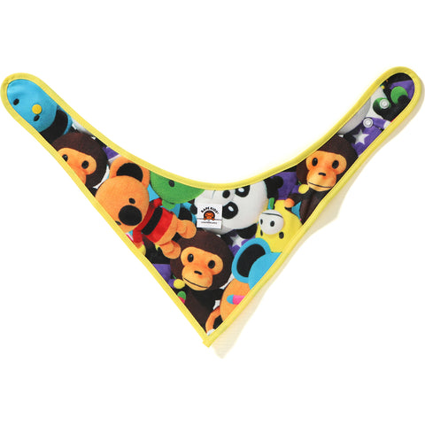 MILO ALL PLUSH DOLL BANDANA BIB KB KIDS