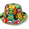 MILO FRIENDS BLOCK REVERSIBLE BABY CAP KIDS