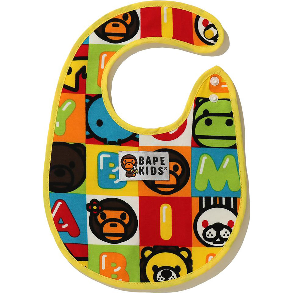 MILO FRIENDS BLOCK BIB KB KIDS