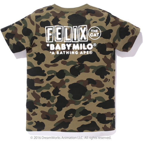1ST CAMO FELIX THE CAT TEE /L