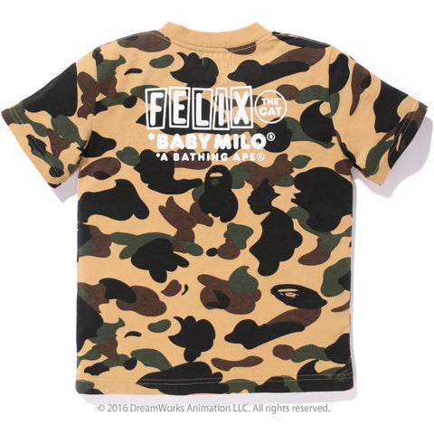 1ST CAMO FELIX THE CAT TEE /K