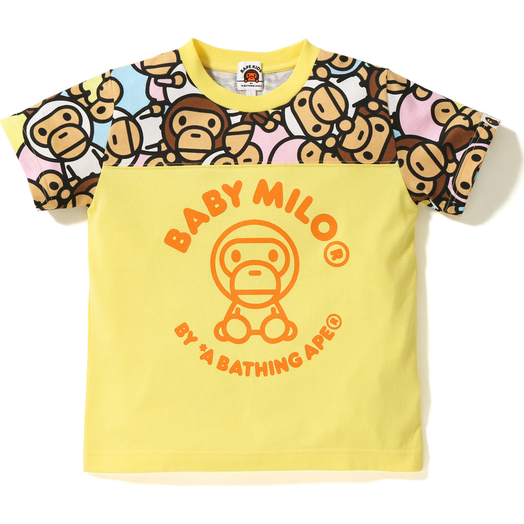 ALL BABY MILO MULTI FOOTBALL TEE KIDS