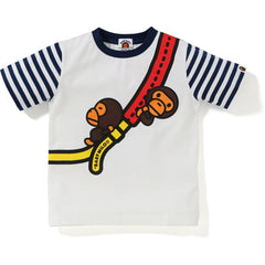 BABY MILO FAKE SHOULDER HOOP TEE KIDS