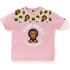 BABY MILO JUNK FOOD FOOTBALL TEE KIDS