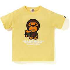 BABY MILO HAMBURGER TEE KIDS