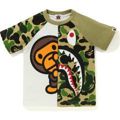 ABC CAMO MILO SHARK TEE KIDS