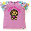 STRAWBERRY MILO FRILL TEE KIDS