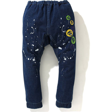 BABY MILO PAINT DENIM PANTS KIDS