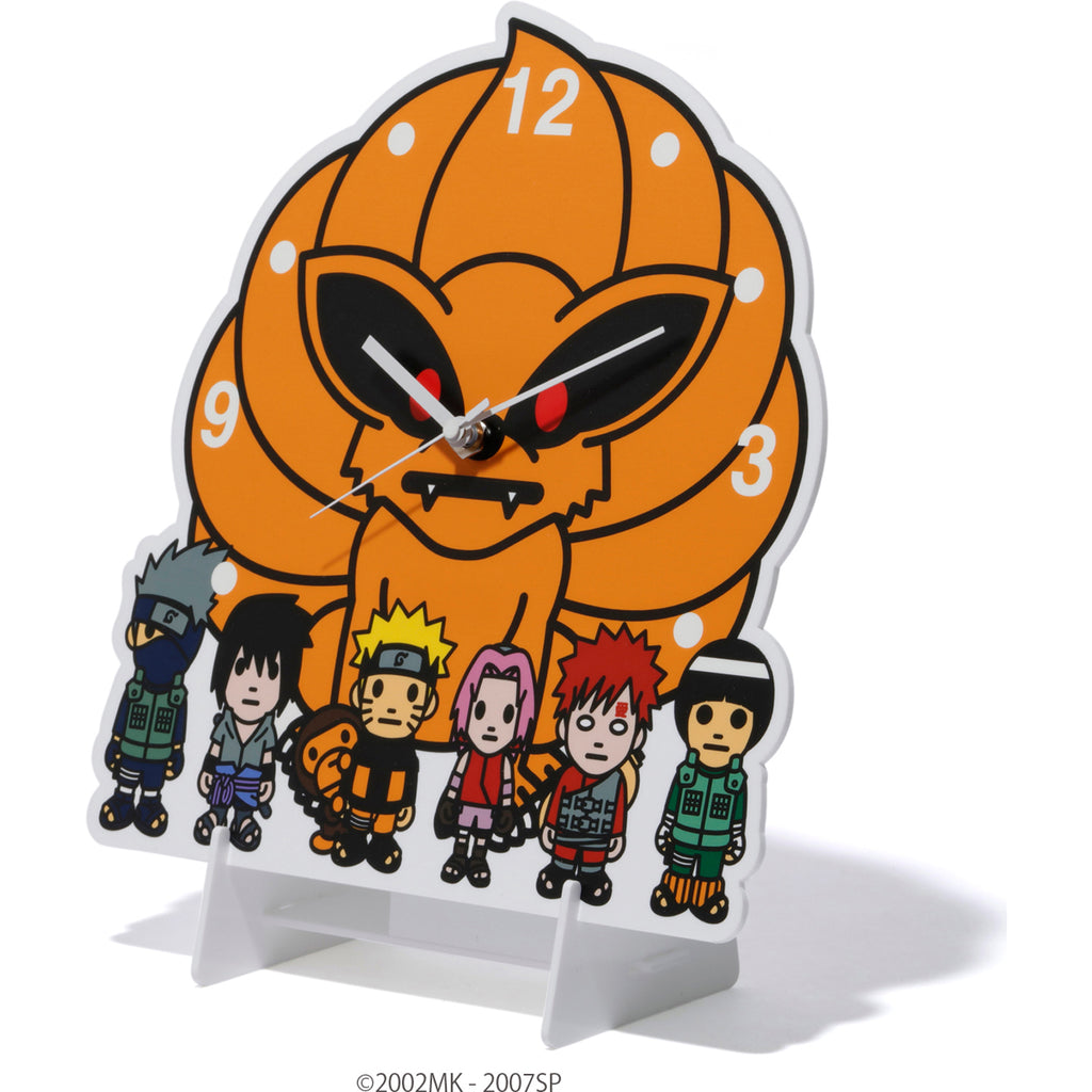 NARUTO X BAPE COMIC WALL CLOCK MENS