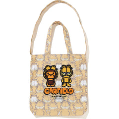 BAPE X GARFIELD TOTE BAG MENS