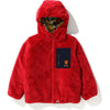 BABY MILO ALPHABET BOA REVERSIBLE JACKET KIDS