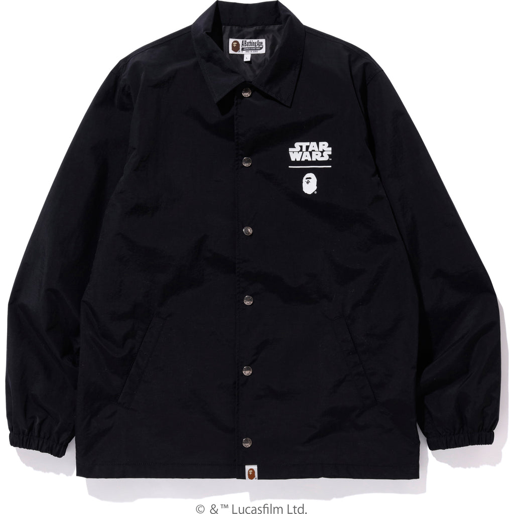 SW X BAPE FIRST ORDER COACH JACKET MENS