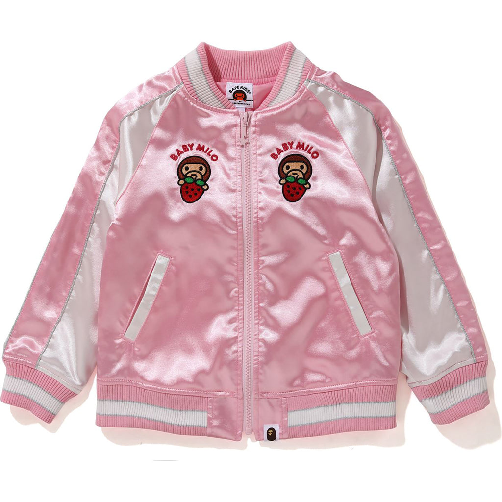 STRAWBERRY MILO SOUVENIR JACKET KIDS