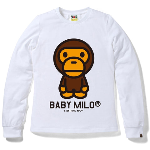 BABY MILO LONG SLEEVE TEE /AP