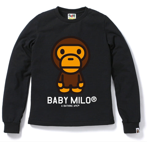 BABY MILO LONG SLEEVE TEE/L