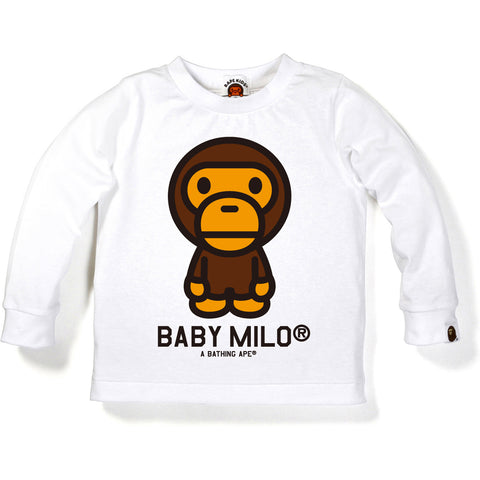 BABY MILO LONG SLEEVE TEE K