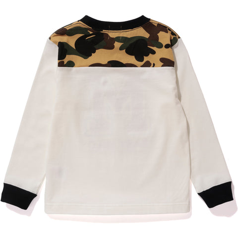 1ST CAMO BABY MILO LONG SLEEVE TEE KIDS