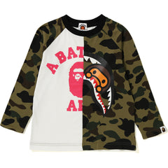 1ST CAMO COLLEGE X MILO SHARK LONG SLEEVE KIDS