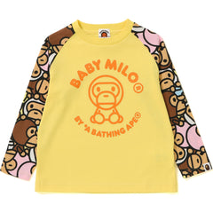 ALL BABY MILO MULTI LONG SLEEVE TEE KIDS