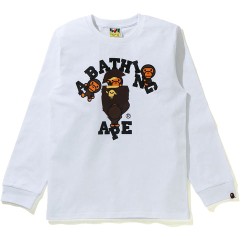 COLLEGE MILO L/S TEE LADIES