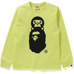 MILO ON APE HEAD L/S TEE LADIES
