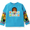 MILO FRIENDS BLOCK LAYERED L/S TEE KIDS