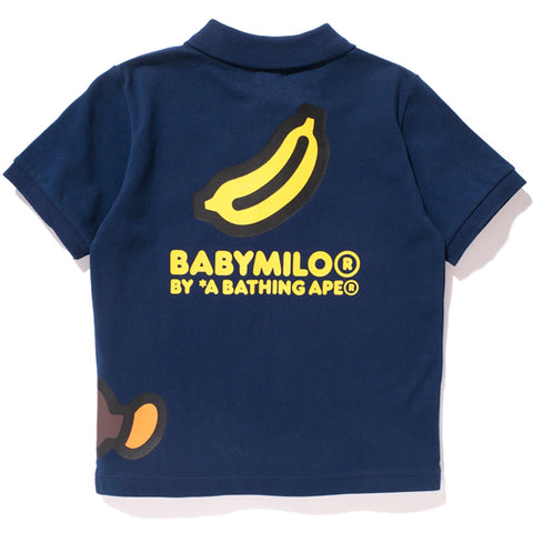 SLEEPING MILO BANANA POLO /K