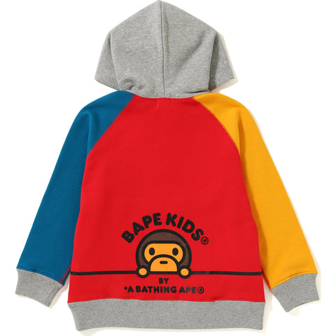 BABY MILO EMBROIDERY PULLOVER HOODIE KIDS