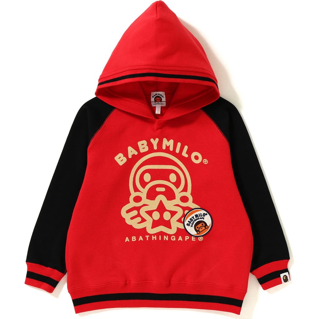 ce901c778db6 BABY MILO PATCH PULLOVER HOODIE KIDS