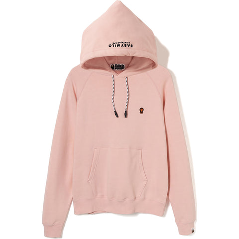MILO ONE POINT WIDE PULLOVER HOODIE LADIES