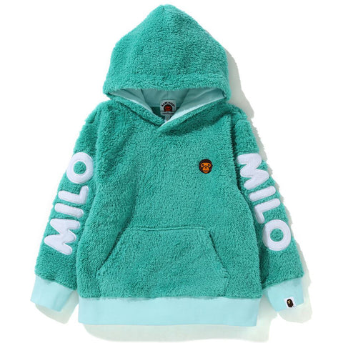 BABY MILO BOA PULLOVER HOODIE KIDS