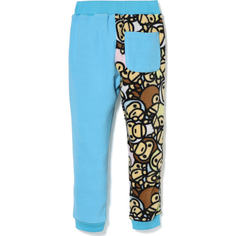 ALL BABY MILO MULTI FLEECE SLIM PANTS KIDS