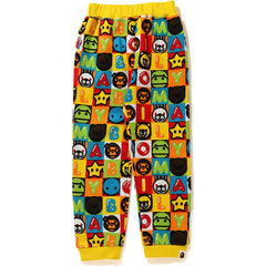 MILO FRIENDS BLOCK SWEAT PANTS KIDS