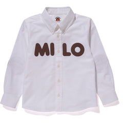 MILO APPLIQUE OXFORD BD SHIRT KIDS