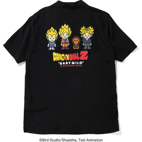 BAPE X DRAGON BALL Z BABY MILO SUPER SAIYAN SHIRT MENS